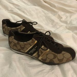 Coach Sneakers- Size 10